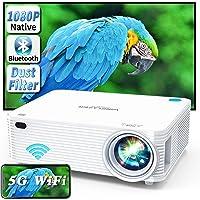 WISELAZER Vidéoprojecteur Full HD 1080P Natif WiFi Bluetooth-Home cinéma 9500 Lumen Projecteur Supporte 4K Fonction Zoom…