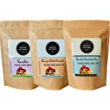 The Wildly Natural Pancake Mix Combo Packs (Vanilla/Orange/Double Chocolate Chip)