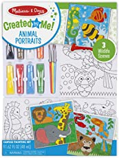 Melissa and Doug Canvas Painting Set - Animals, Multi Color
