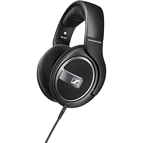 Sennheiser HD 559 Open Back Headphones  Black