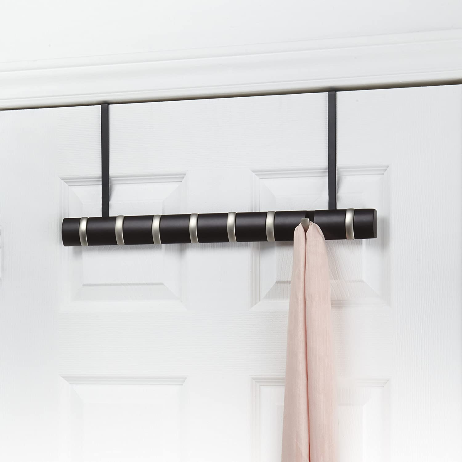 Umbra Flip Wall Mounted Hook System With 5 Hooks, Natural: Amazon.co.uk:  Kitchen U0026 Home