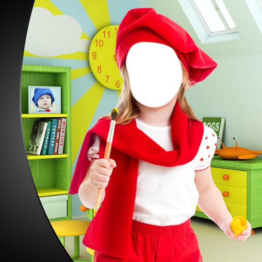 Kinder Kostüm Foto-Editor