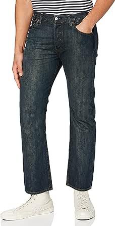 Levi's Men's 501 Original Fit-Straight Jeans, Blue Evans