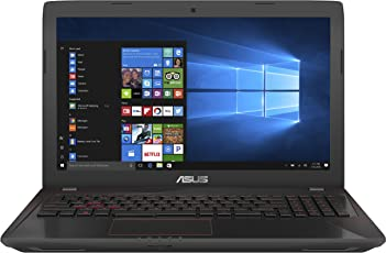 ASUS FX553VE (90NB0DX7-M03980) 39,6 cm (15,6 Zoll, FHD, Matt) Gaming (Intel Core i7-7700HQ, 16GB RAM, 256GB SSD, 1TB HDD, NVIDIA GTX1050Ti (4GB), Win 10) Schwarz