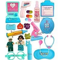 Toyshine 20 Pcs Doctor Play Set, Medical Set, Pretend Play Toy - Blue