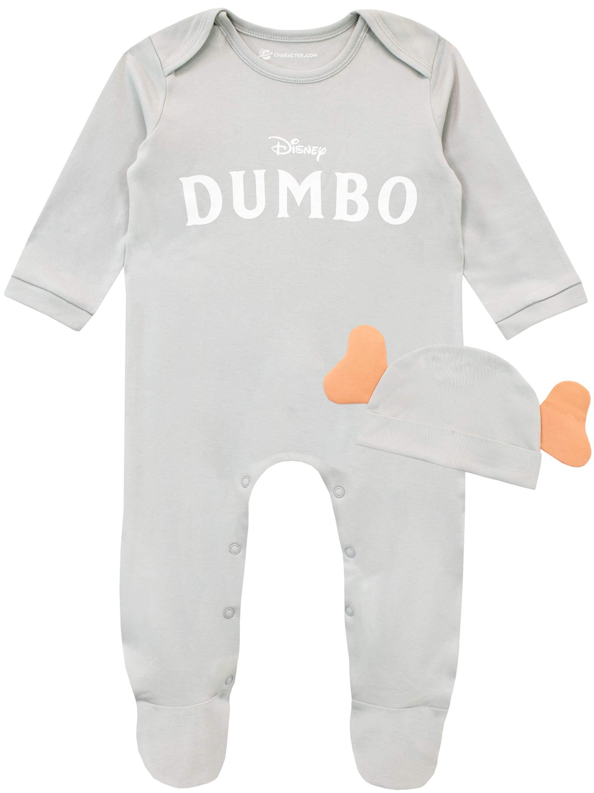Disney Pijama Entera con Gorro para Niños Bebés Dumbo 1