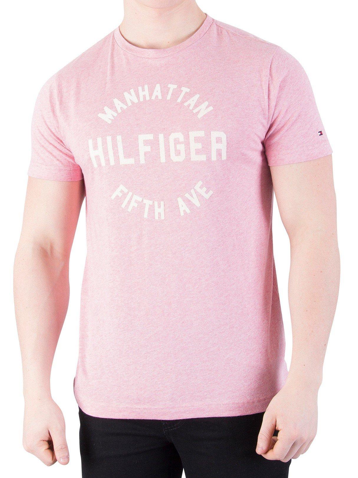 Tommy Hilfiger Owen C-nk tee S/S RF Camiseta para Hombre
