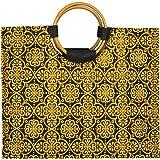 Jute Bags for Lunch for Women and Men   Jute Grocery Bag   Jute Carry Bag   Jute Tiffin Bags   Printed Jute Bag   Mughal Prin