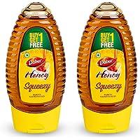 Dabur Honey Squeezy  - India's No.1 Honey - 225 g (Buy 1 Get 1 Free)