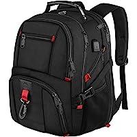 Laptop Rucksack Herren, 18 Zoll Grosser Arbeitsrucksack Reiserucksack Wasserdicht, mit USB Ladeanschluss, Business…