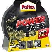 PATTEX Adhésif Réparation Power Tape Noir Etui 10m