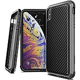 X-Doria 473194 Defense Lux Back Case for iPhone Xs Max - Black Carbon Fiber (Pack of 1)
