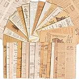 180Feuilles Papier Bullet Journal Vintage Scrapbooking Papeterie Décoratifs Rétro DIY Album Photo Décoration pour Artisanat S