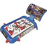 LEXIBOOK- Nintendo Mario Kart Máquina electrónica de Pinball de Mesa, Juego de acción y Reflejo para niños y familias, Pantal