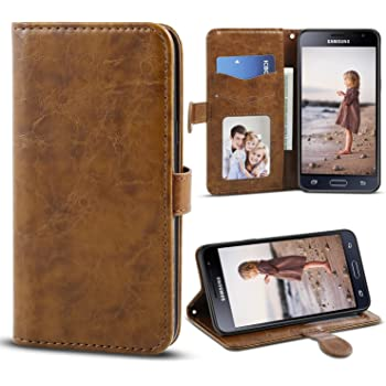 Cell Phone Accessories Cell Phones & Accessories For Samsung Galaxy J3 2017 & J5 2017 Leather Magnetic Wallet Flip Case Cover
