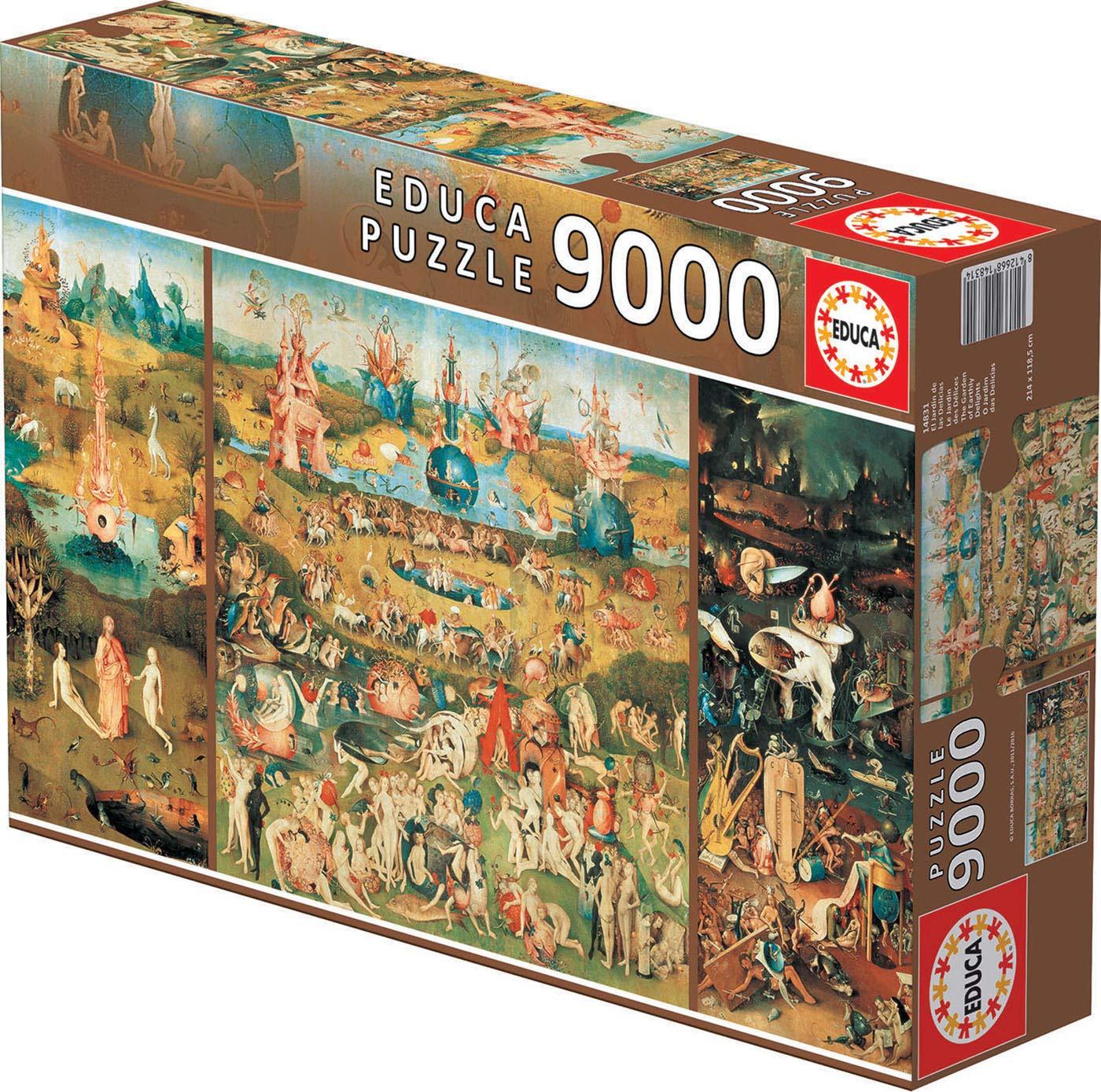 Educa Borrás – El Jardín de las delicias, puzzle de 9000 piezas (14831)