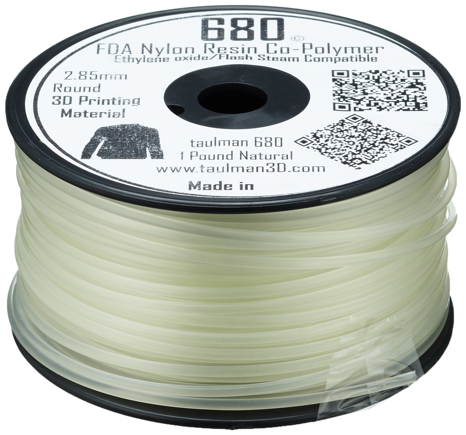 Taulman 10524 Impression Filament, Nylon 680, 2.85 mm, 450 g