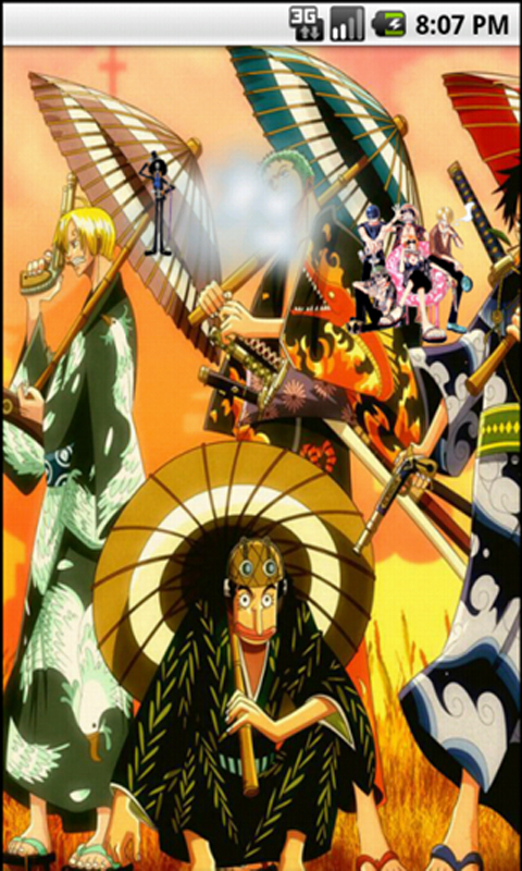 one piece live wallpapers appstore per android