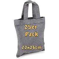 Cottonbagjoe | kleine Apothekertasche | perfekt zum Bemalen | mit Henkel |Jutebeutel | Geschenktasche | Bauwolltasche…