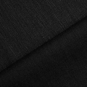 holmar tissu en lin au m tre pr lav 17 coloris noir. Black Bedroom Furniture Sets. Home Design Ideas