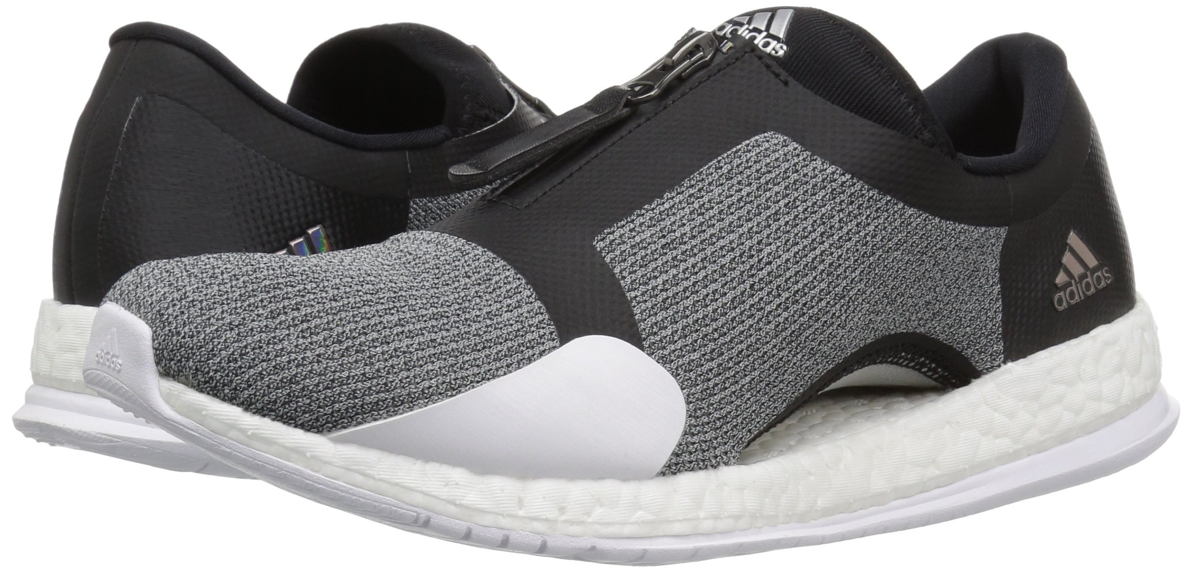 81I79mV1IFL - adidas Womens Pure Boost x tr Zip Low Top Slip On Fashion Sneakers