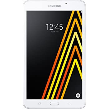 """Samsung Galaxy Tab A Tablette Tactile 7"""" Blanc (8 Go, Android, WiFi)"""