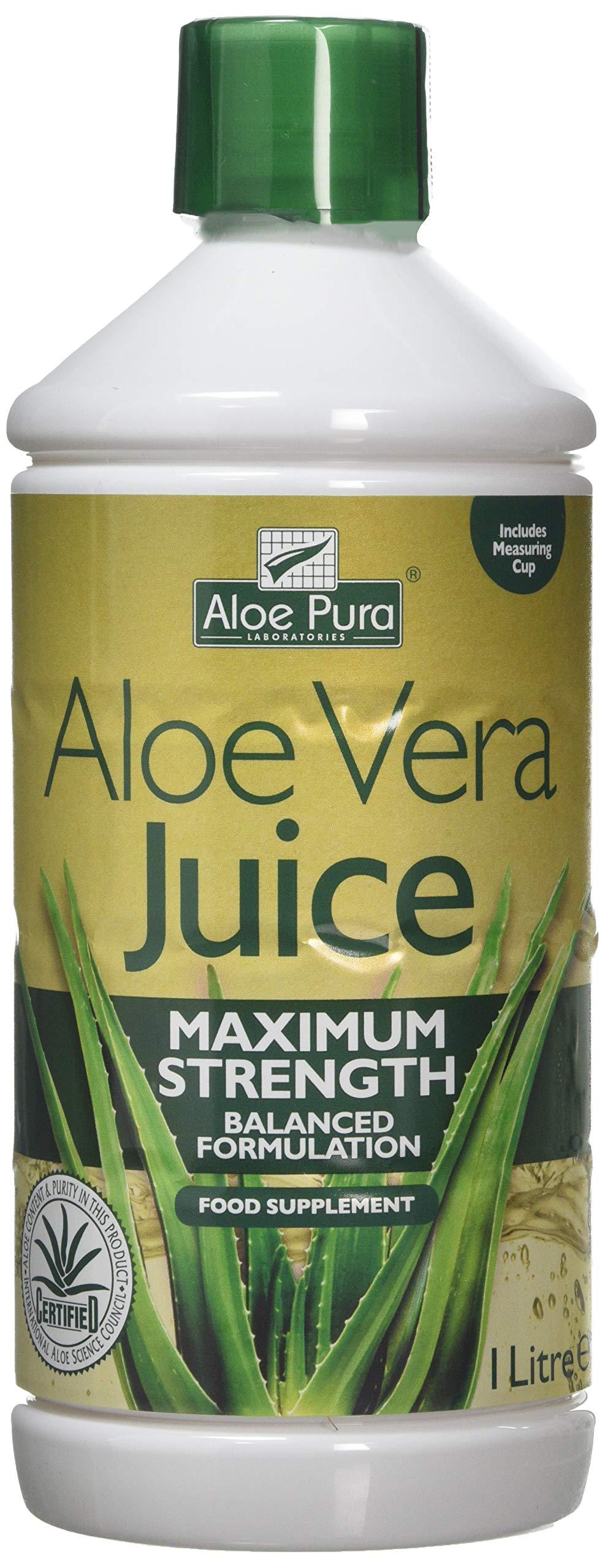Aloe Vera Juice Max Strength - 1litre 1