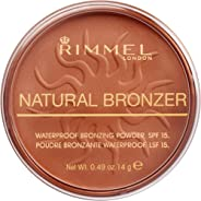 Rimmel London, Natural Bronzer, Shade 025, Sun Glow