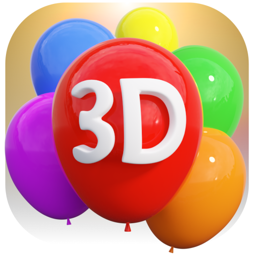 Balloon Maker 3D : Babies' Toddlers' and Kids' 3D Balloon Popping Game - Offline and ad free