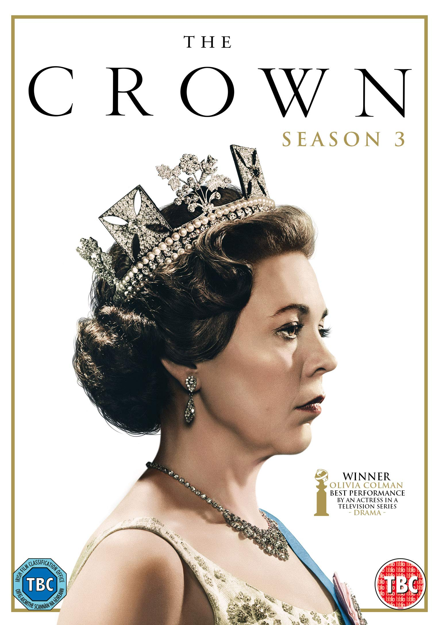 The Crown Season 03 Dvd 2020 Amazon Co Uk Olivia Colman Tobias Menzies Olivia Colman Tobias Menzies Oona Obeirn Michael Casey Andy Stebbing Martin Harrison Dvd Blu Ray