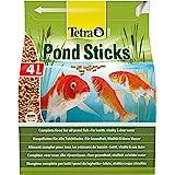Tetra Pond Sticks 4 L - Alimento para peces de estanque, para peces sanos y agua clara, diferentes tamaños