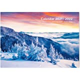 Eono 2021-2022 Wall Planner Calendar - 18 Months from July 2021-December 2022, Monthly Planner for Office Family School, 29.7