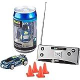 Revell Control 23561 Mini RC Racing-Car aus der Dose mit 27MHz-Fernsteuerung inkl. Ladefunktion, LED-Licht, Kurze Ladezeit, Lange Fahrzeit kleines ferngesteuertes Auto, Sportwagen