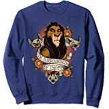 Disney The Lion King Scar With Hyenas Surrounded By Idiots Sweatshirt