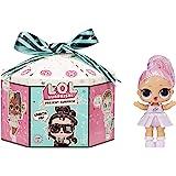 LOL Surpise Present Surprise - Muñeca con Purpurina Tema Zodiaco y 8 Sorpresa, Cambios de Color y Accesorios de Moda, Present