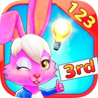 Wonder Bunnys  Mathe-Rennen: Drittklässler-App für Zahlen, Addition, Subtraktion, Multiplikation, Brüche und Gleichungen