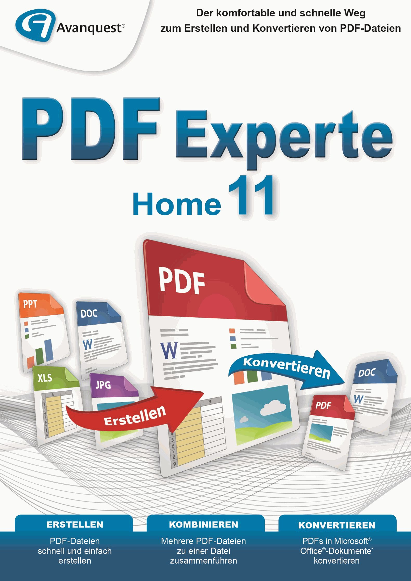 PDF Experte 11 Home - Der praktische PDF-Manager für Windows 10|8|7|Vista|XP! [Download]
