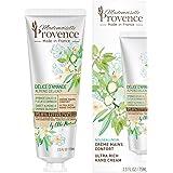 Mademoiselle Provence bekväm handkräm Mandel & apelsinblommor - känslig hud - 95,8 % naturligt ursprung - Made in France - 3