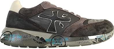 PREMIATA Scarpe da Uomo Sneaker Tessuto Tecnico e camoscio Zac Zac 3547 Grigio