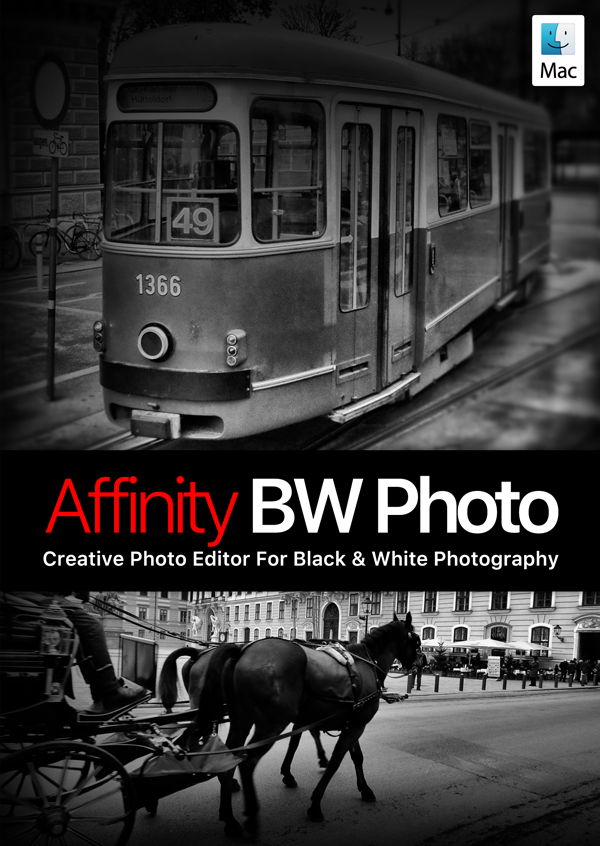Affinity BW Photo - Creative Photo Editor For Black & White Photography [Download] - Passen Levis