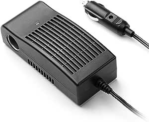 Roypow 24v Dc Zu 12v Dc Wechselrichter Spannungswandler Adapter Power Konverter Mit Zigarettenanzünder Buchse Für 24v Fahrzeug Kfz Lkw Auto