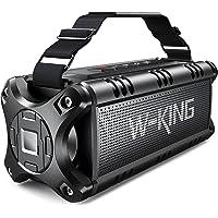 W-KING 50W Bluetooth Lautsprecher, Super Laut Outdoor Lautsprecher Wasserdicht IPX6, Druckvoller Bass Kabelloser…