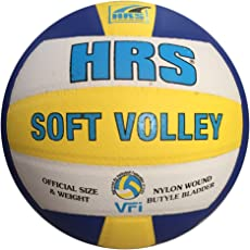 HRS Soft Moulded Leather Volleyball for professional matches
