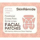 Gezichtspatches om vloeiende lijnen en rimpels, SkinRemide Anti Rimpel 165 Clear Adhesive Patches.Verschillende vormen voor v