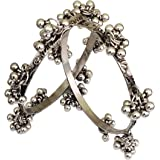 Total Fashion Oxidized Silver Kada Bracelet for Women's & Girl's