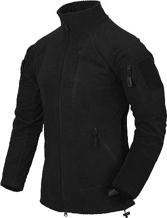 Helikon-Tex Men's Alpha Tactical -Grid Fleece- Jacke Helikon-Tex Alpha Tactical Grid Fleece Jacket Black
