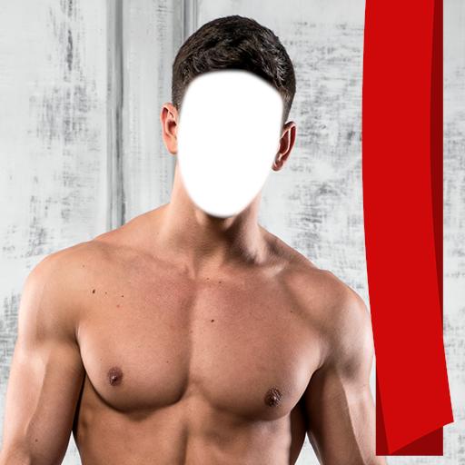 Montaje de la foto del Bodybuilding