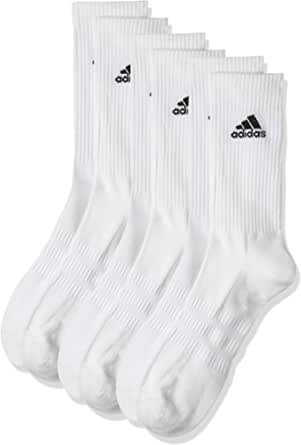 Adidas Men's Cush Crw 3pp Socks