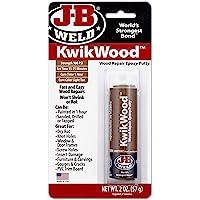J-B Weld 8257 KwikWood Wood Repair Epoxy Putty - 1 oz