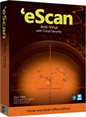 eScan Anti-Virus with Cloud Security - 1 User, 3 Years  (CD)